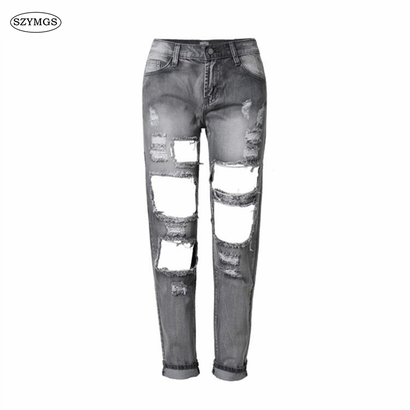 Popular Gray Jeans Women-Buy Cheap Gray Jeans Women lots from ...