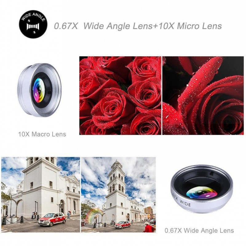 Universal Clip 3 in 1 HD Fish Eye Camera Macro Wide Angle Phone Lens For iPhone 7 8 6 6s Plus X For Samsung Xiaomi redmi Huawei-in Mobile Phone Lenses from Cellphones & Telecommunications on Aliexpress.com | Alibaba Group 5