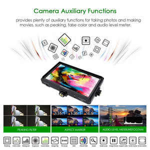 Image 4 - Монитор для камеры FEELWORLD FW568, 5,5 дюйма, IPS, 4K, HDMI, Full HD, 1920x1080