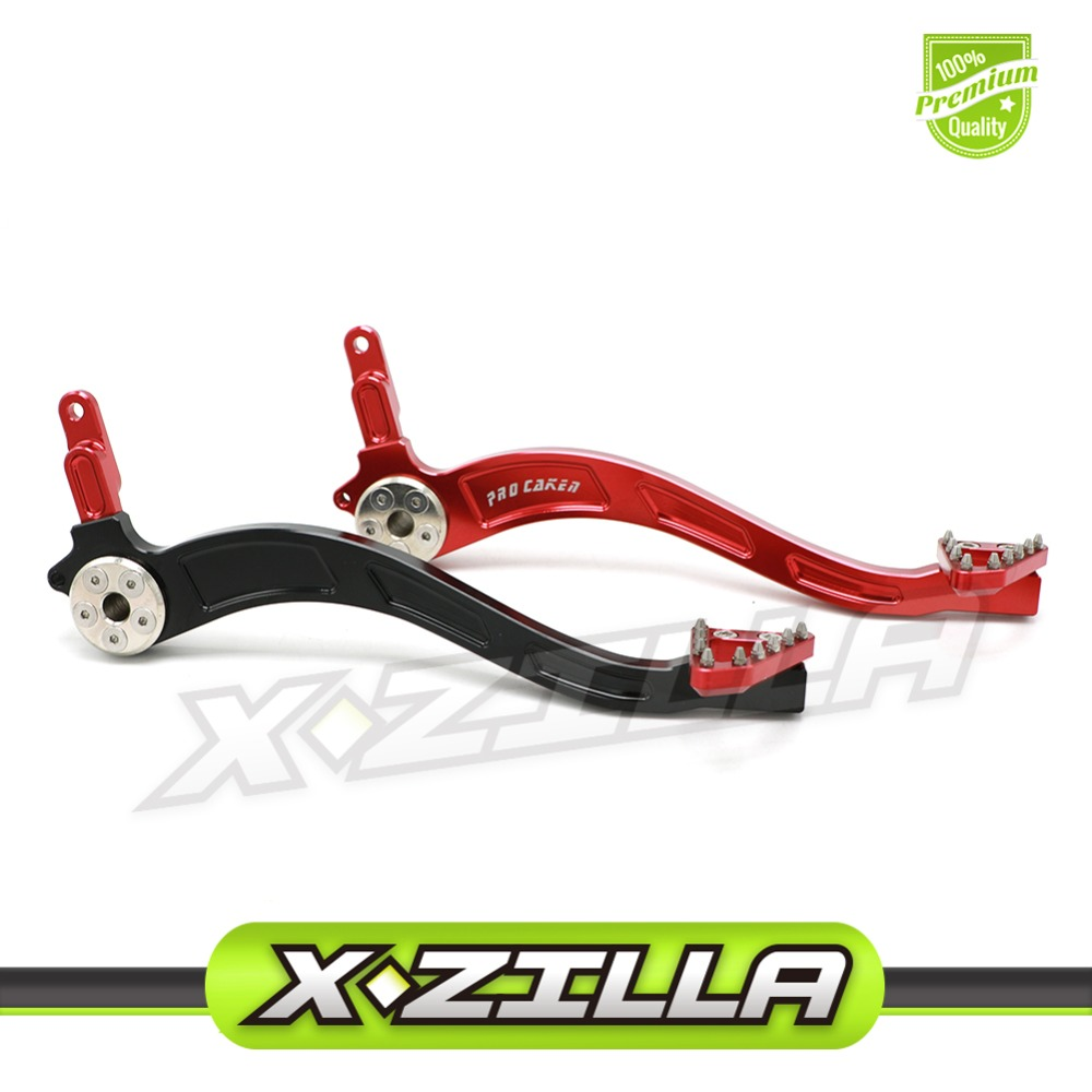 CNC Aluminum Billet Rear Brake Pedal Arm Lever for Honda CRF230 CRF 230 CRF230F CRF 150 F Dirt Bike Offroad Motorcycle Motocross