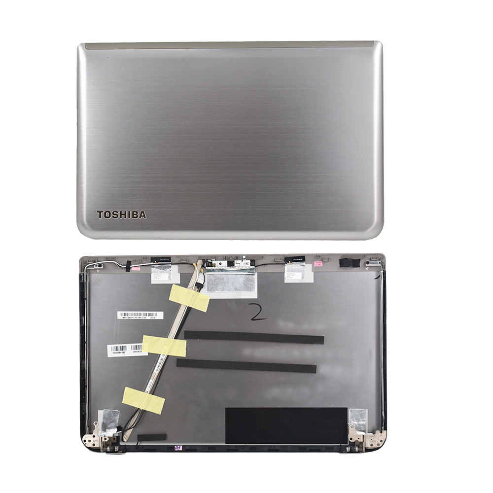LCD Back COVER Lid Hinges For Toshiba Satellite P55t P55t-AH000056090 Touch