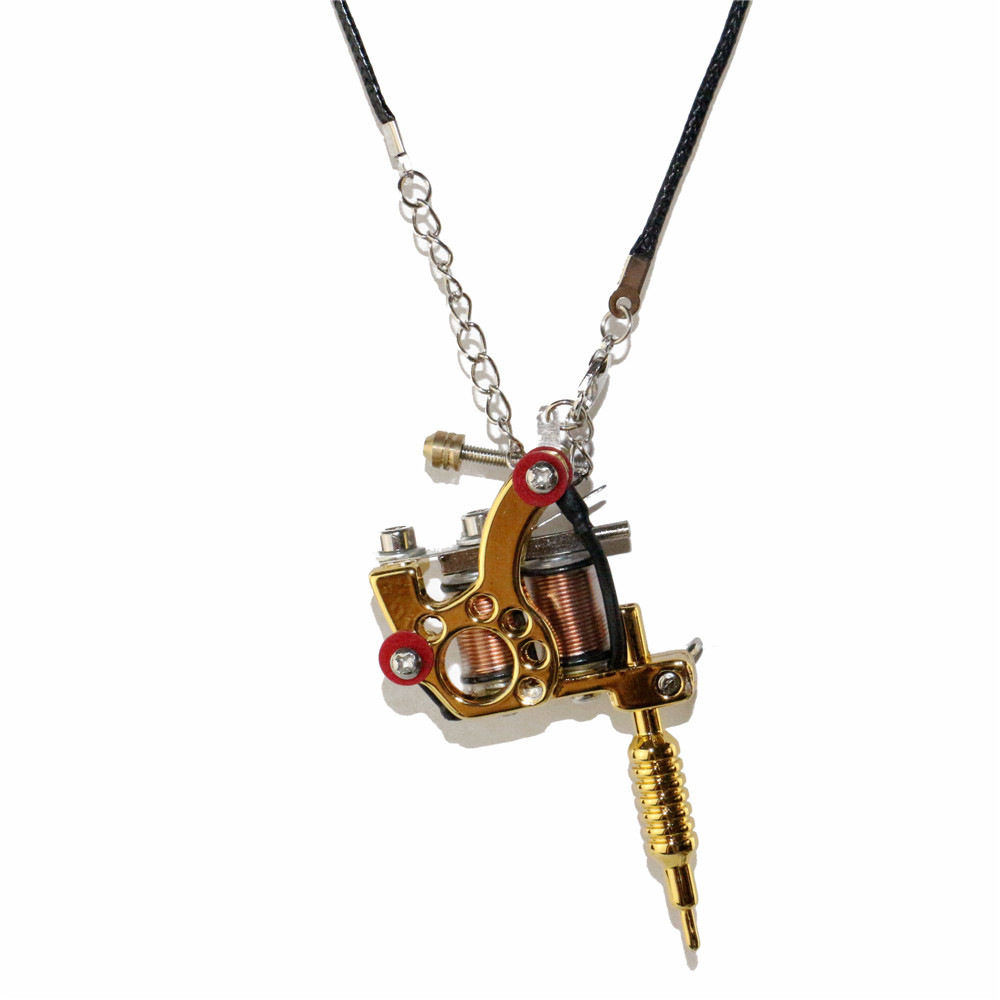 1pcs pendant unisex cool fashion jewelry necklace mini tattoo 1pcs pendant unisex cool fashion jewelry necklace mini tattoo machine gold tattoo gun toy for tm 917c yuelong shop in tattoo guns from beauty health on mozeypictures Gallery
