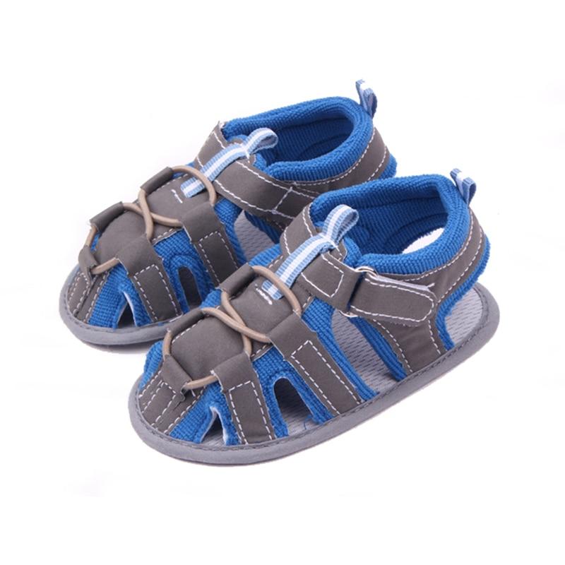 Baby barefoot sandals boys Antiskid soft sole baby boy summer shoes toddler infant boy sandals zandalias de bebe F26