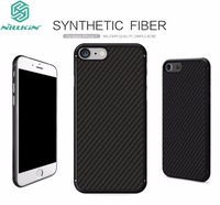 For Apple IPhone 7 4 7 Cover Original Nillkin High Quality PC Carbon Fiber Woven Pattern