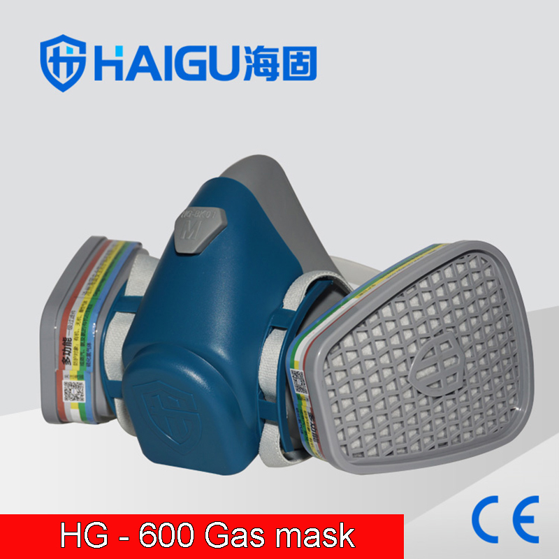 provide 9400a goggles gas mask high quality silica gel protective mask 4 filter against hydrogen acid gas filter mask HG-600 Respirator gas mask high quality Silica gel Gas mask against Acid gas Ammonia Hydrogen sulfide Breathing mask