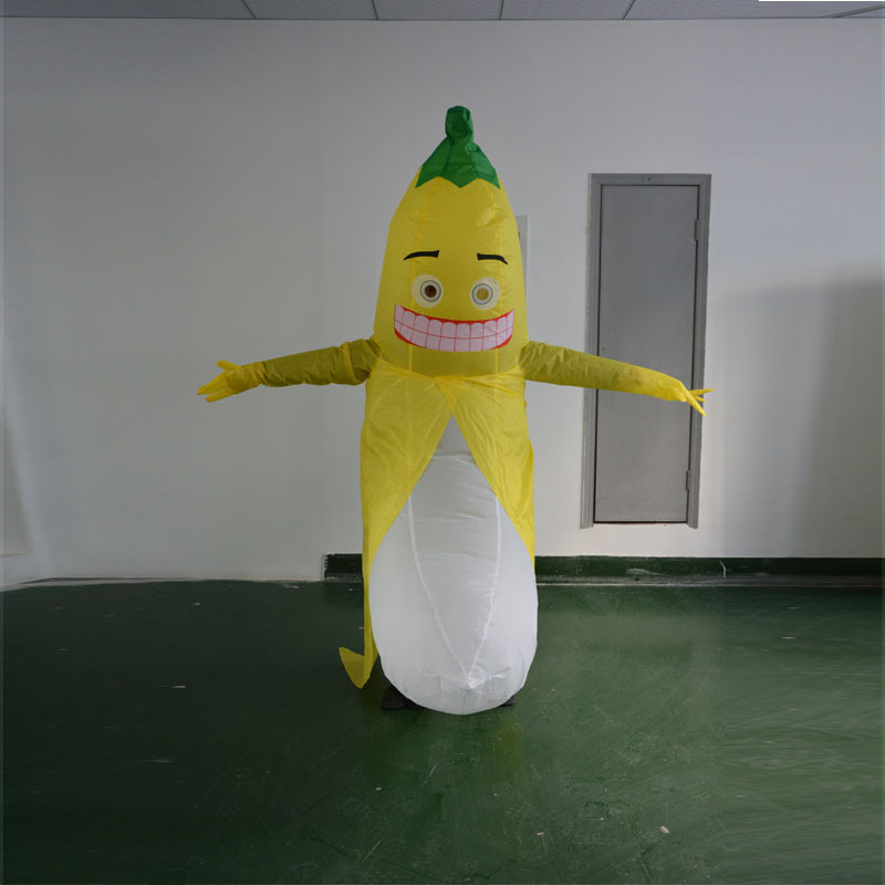 Inflatable Banana Costumes for Adult Bachelor Party Fancy Dress Penis Sexy Anime Men Clothes Disfraces Christmas Gift Toys clown inflatable costumes halloween witch party stage clothes for men women carnival father unisex dress up fancy stuffed toys