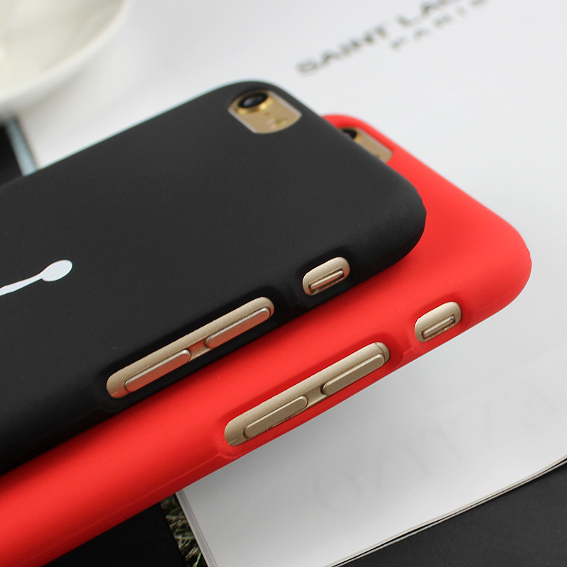 Matte Plastic Back Case for IPHONE 6/6S