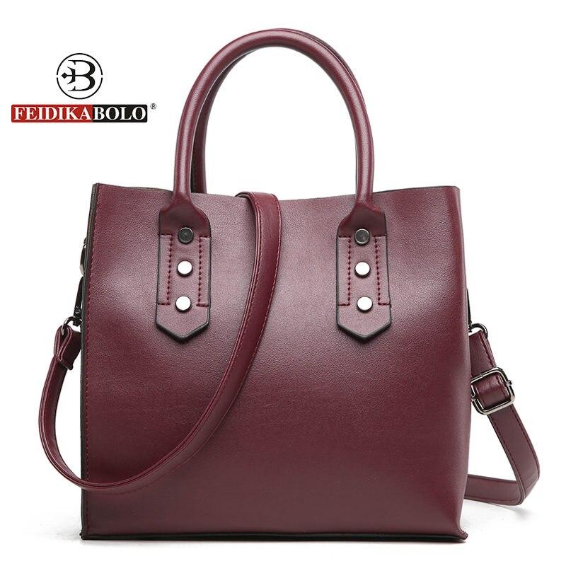 Fashion bolsa feminina women PU handbags ladies leather handbag luxury handbags women bags designer shopping bags for women 2018