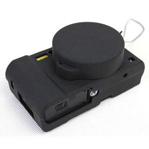 Image 5 - Nizza Schutz Körper Abdeckung Fall für Panasonic Lumix LX10 Weiche Silikon Kamera Tasche für Panasonic Lumix L X10 mit Gummi Objektiv kappe