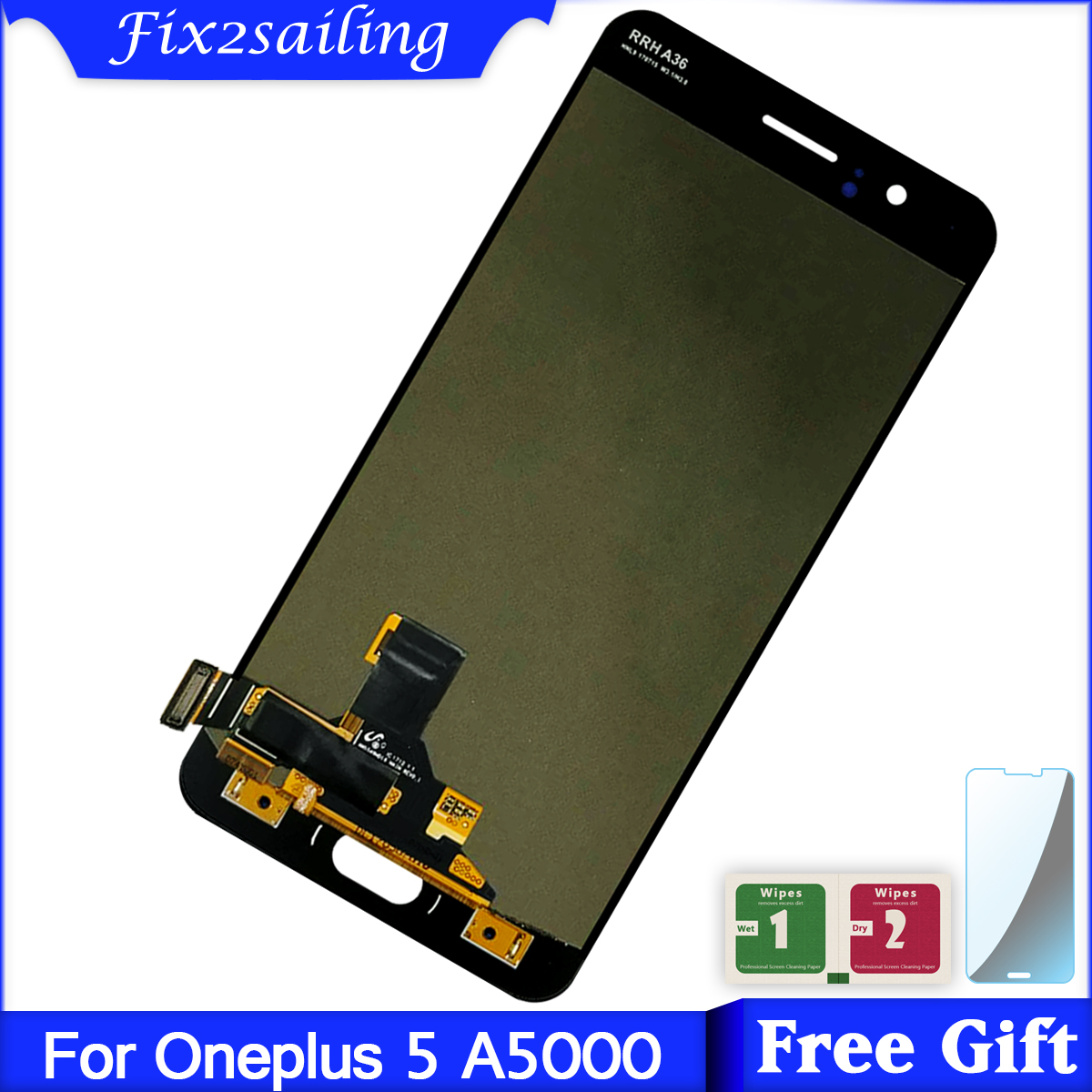 For One Plus 5 A5000 LCD display + Touch Screen Digitizer With Frame Super AMOLED Tested Working LCDFor One Plus 5 A5000 LCD display + Touch Screen Digitizer With Frame Super AMOLED Tested Working LCD