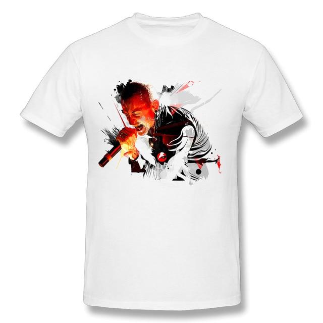 Großhandel 3d Print Männlich Chester Bennington Link Park T Shirts ...