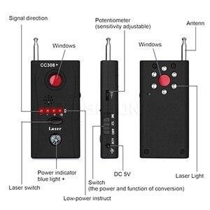 Image 4 - Multi Funzione di Obiettivo di Macchina Fotografica Senza Fili Del Rivelatore Del Segnale CC308 + Radio Onda Del Segnale Rilevare Camera Full range WiFi RF GSM Finder Dispositivo