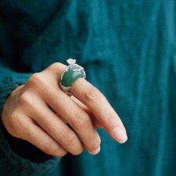 Handmade Natural Design Aventurine Stones Rings9