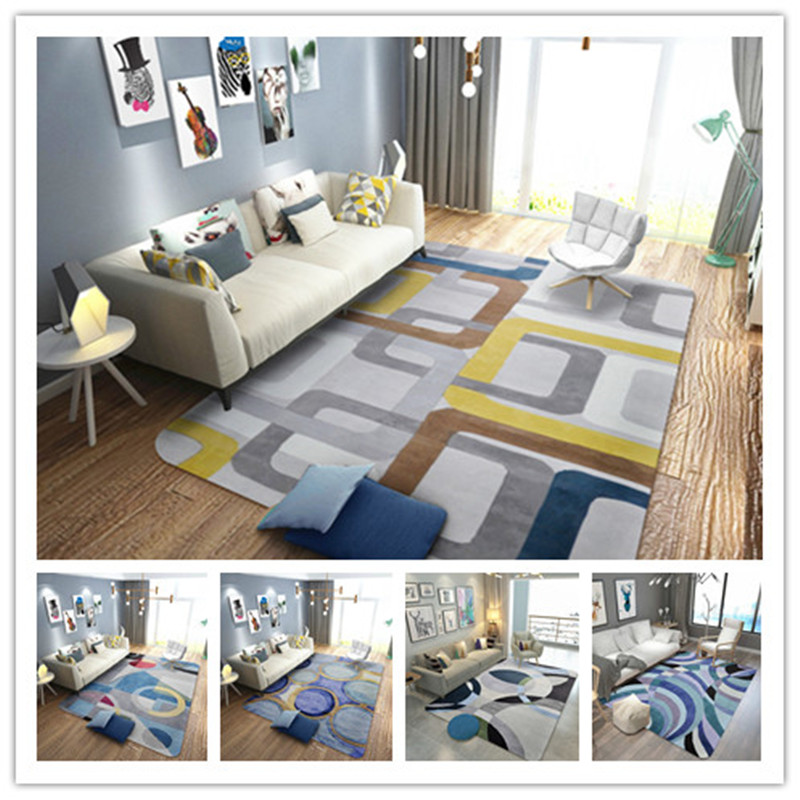 Fashion Geometry Creative Large Area carpets for living room Bedroom Kids Crawl Floor Mat Home Decor Soft Rugs alfombra tapisFashion Geometry Creative Large Area carpets for living room Bedroom Kids Crawl Floor Mat Home Decor Soft Rugs alfombra tapis