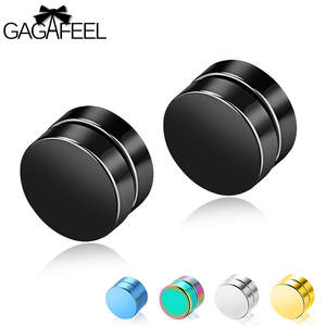 GAGAFEEL Stud Earrings Men Jewelry Earrings For