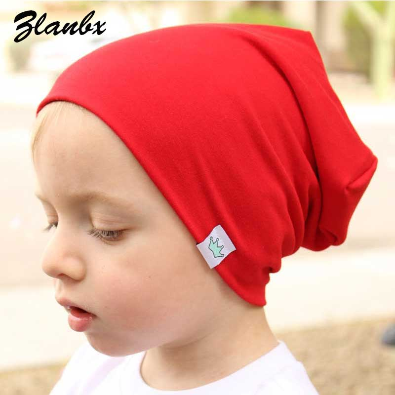 Apparel Accessories Original New Kids Beanie Winter Cotton Embroidery Crown Hats Newborn Baby Skullies Beanies Knitted Cap Girls Boys Autumn Solid Soft Hat To Enjoy High Reputation In The International Market