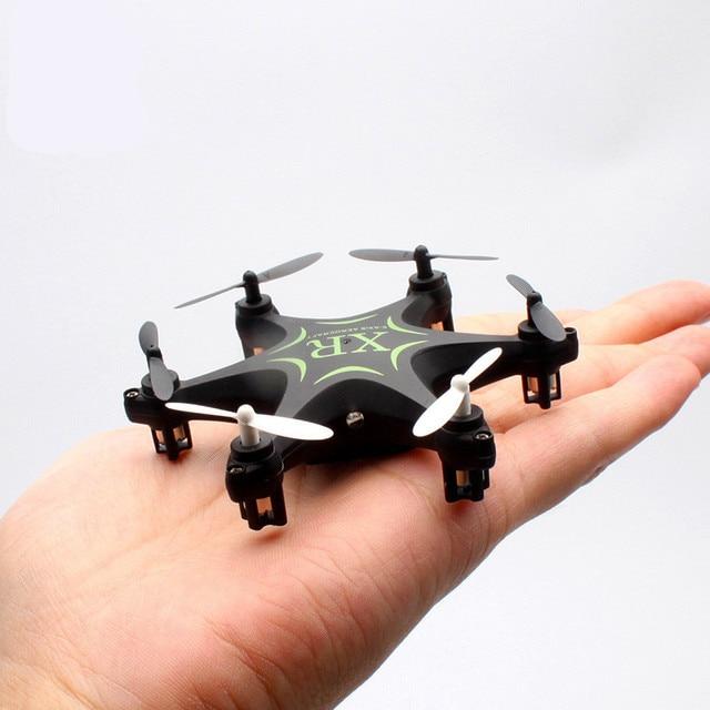 Mini XR-7 drones RC Juguetes 2.4G 4CH 6-axis Quadcopter Gyro Control Remoto rc Helicóptero quadrocopter helicoptero Eléctrico micro