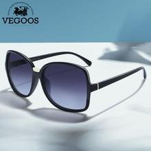 Vegoos Female  TAC Polarized Sunglasses 2017 New Women Oversized Square PC Frame Material Profession Anti-UV Sun Glasses 9096#