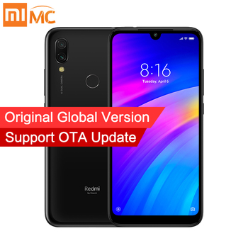 Global Version Xiaomi Redmi 7 3GB 64GB Mobile Phones Snapdragon 632 Octa Core CPU 6.26