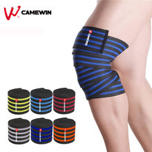 200*8.5 CM Gewichtheffen Knie Protector 1 stks Kneepad Bandage Squats Training Apparatuur Accessoires Sport Knie Pad Ondersteuning(China)