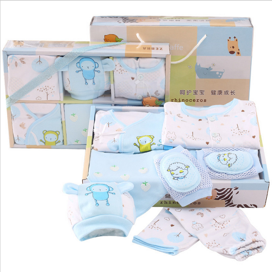 7 pieces newborn baby underwear suits clothing gift set baby clothes 100% cotton character cute suits for spring and autumn 16 pieces set newborn baby clothing set underwear suits 100% cotton infant gift set full month baby sets for spring