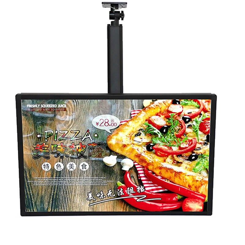 Настенный светящаяся афиша дисплей и световая коробка панели меню для ресторана, кафе магазины
