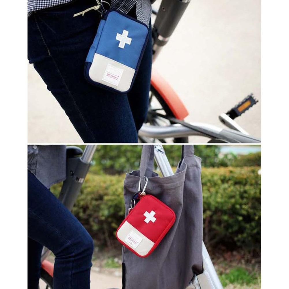Empty First Aid Bag Emergency Pouch Travel Medicine Pill Storage Bags Outdoor Survival Organizer SGA998