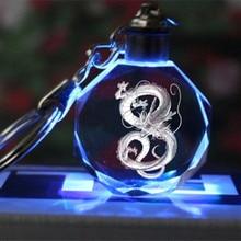 Dragon Ball Super Saiyan Crystal Keyring
