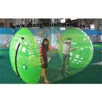 Good quality customized water roller ball/ inflatable water game water walking ball for sale