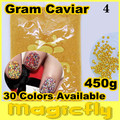 [LYZJ-003] 450 Gramos de Caviar Beads Nail Art Tiny Circle Bolas Nail Art Decoration 3D Caviar Nail Art