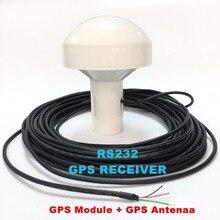 RS232, RS-232 GPS приемник, 12 В источника питания, 4800 скорость передачи, ublox g7020 дизайн чипа, GPS модуль Интегрированной Антенной