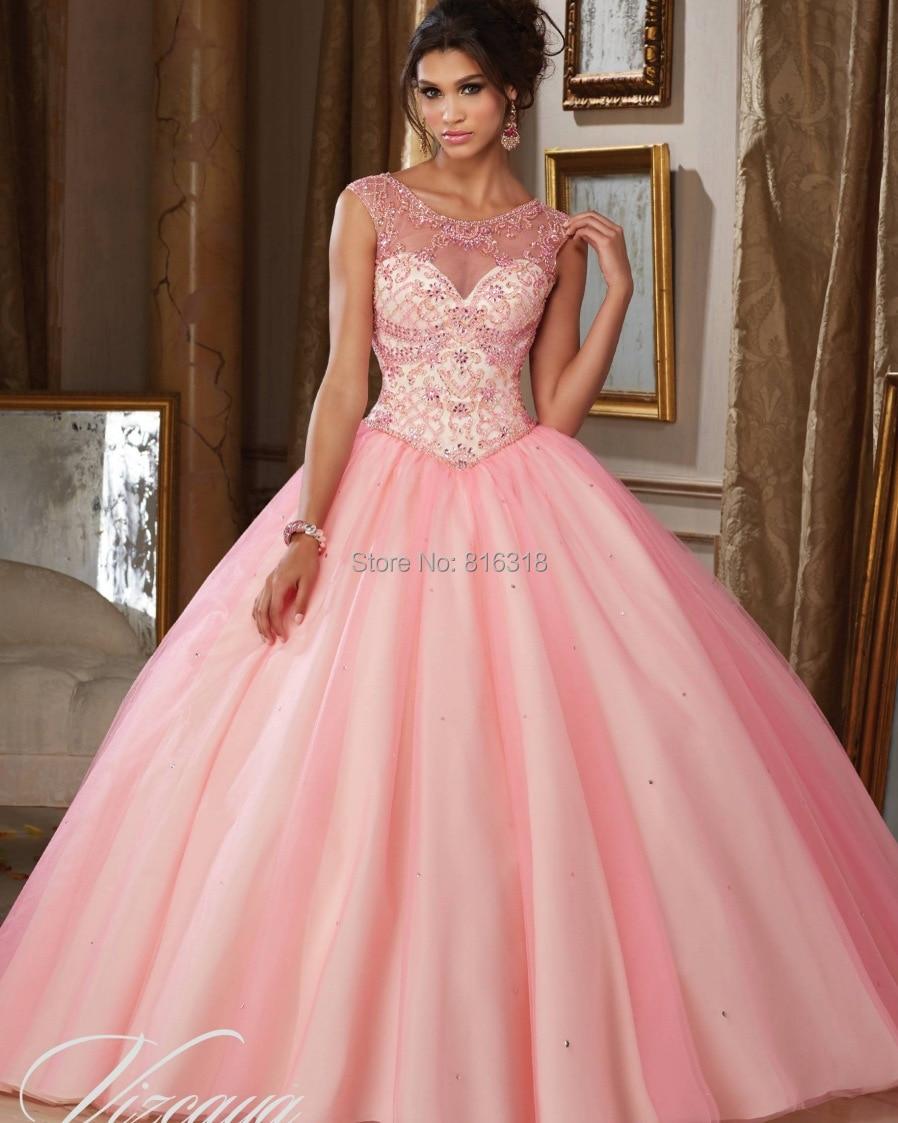 2016 barato vestidos de quinceañera debutante dulce 16 vestidos de ...