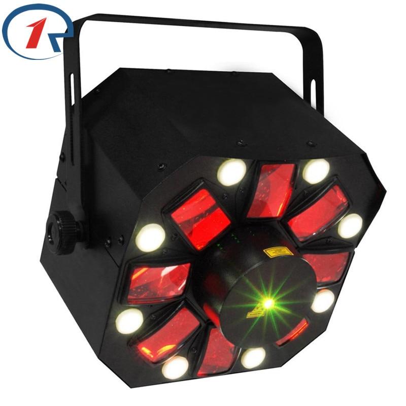 ZjRight 3 in 1 Laser / Strobe / Rotating party stage light Moon - Kommersiell belysning - Foto 2