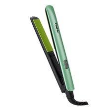 Alisamento ferros 1 polegada brilho terapia alisador de cabelo profissional cerâmica plana ferro curling ferro lcd