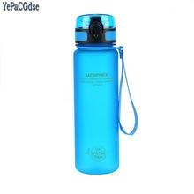 Gift Bottle 500ML Tour Outdoor Sport School Leak Proof Seal Water bottle Plastic Drinkware