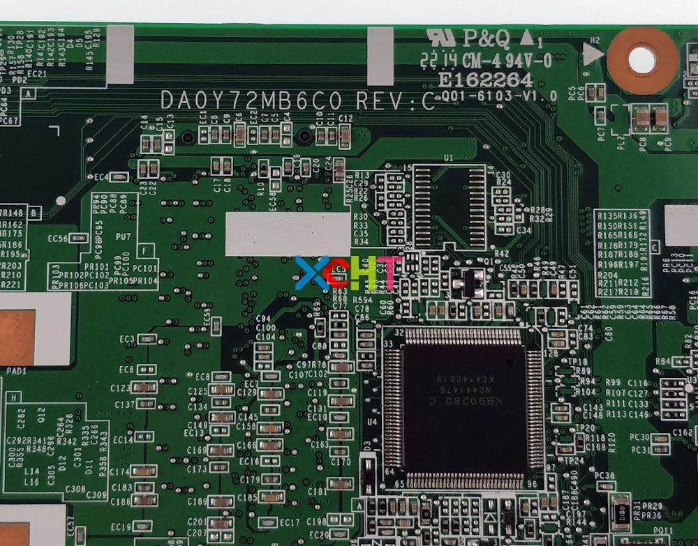 For HP Pavilion 13 13 A 13Z A000 Series 769075 501 769075 001 DA0Y72MB6C0 A8 6410 Laptop Motherboard Tested & Working Perfect
