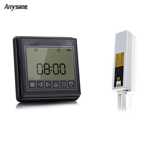 Anysane 433.92 Mhz 1CH RF inalámbrico de control remoto inteligente, temporizador de $ number CANALES de RF, RF larga distancia reciben para wireless inteligente cortina de control remoto