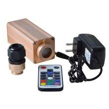 Maykit 9 Вт RGB Led волоконно-оптический DIY потолочный комплект Led волоконно-оптических двигатель с пульта дистанционного управления для любого fibre оптика
