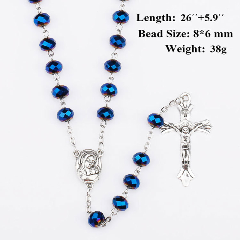 Rosary Necklace Virgin