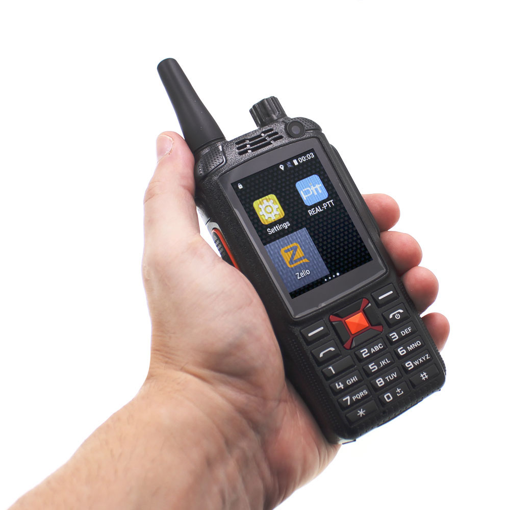 Image 3 - 3G Network Radio Zello Walkie Talkie Phone PTT Moblie phone Dual SIM Card GPS Wifi Radio-in Walkie Talkie from Cellphones & Telecommunications