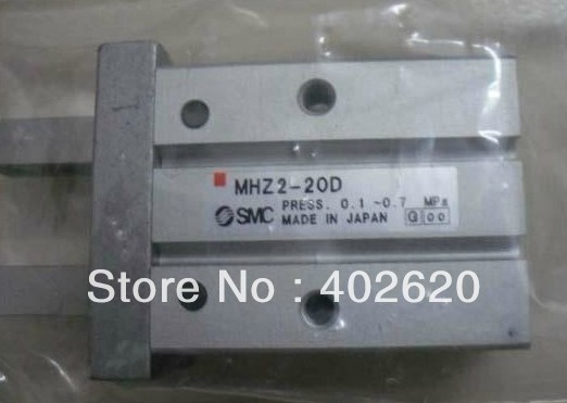 MHZ2-20D air cylinder, pneumatic cylinder, pneumatic component, SMC type Pneumatic Parallel Gripper MHZ2-20D high quality double acting pneumatic gripper mhy2 20d smc type 180 degree angular style air cylinder aluminium clamps