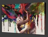 2016 새로운 캔버스 인쇄 홈 장식 룸 뱅크시 낙서 벽 예술 거실