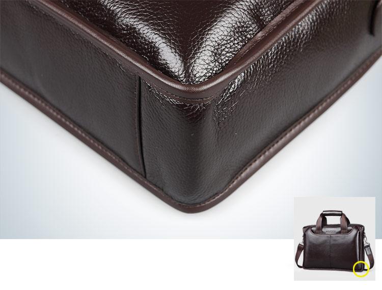 New Fashion Genuine Leather Messenger Bag for Men