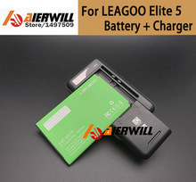 Low price1PC Desk Dock Charger 1pc For LEAGOO Elite 5 Battery 4000mAH Back up Battery for