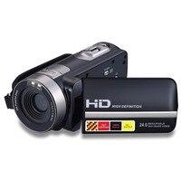 301STR Màn Hình Cảm Ứng FHD Video Camera 1080 P Máy Quay Kỹ Thuật Số 16X Zoom Ghi Video với Microphone Màn Hình Xoay 270 Đ