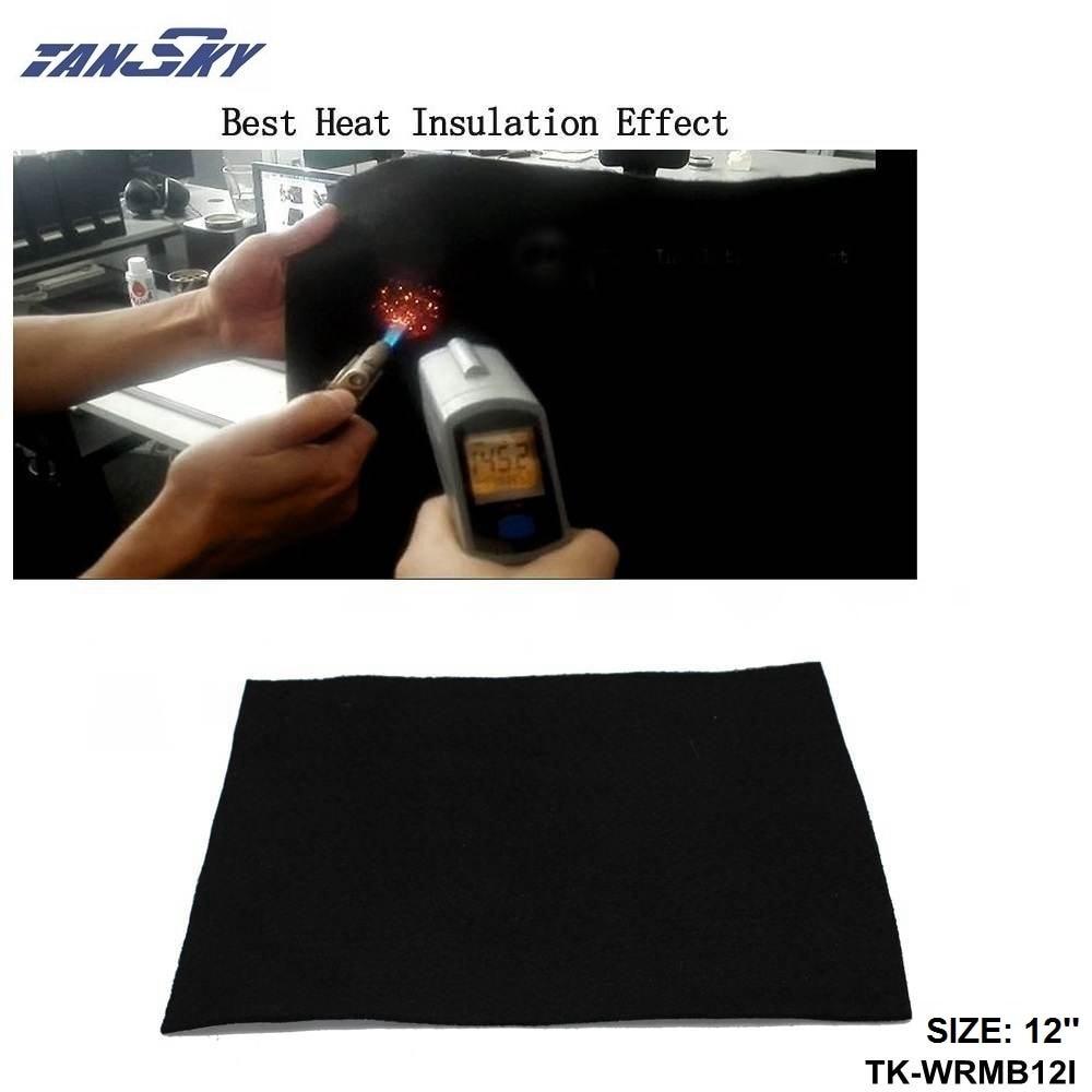 Car Carbon Fiber Welding Blanket Torch Shield Plumbing Heat Sink Slag Fire Felt New 12