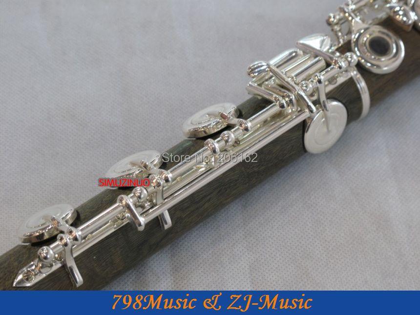 PROFESIONAL Hijau Cendana Flute-B-kaki-Open - Alat-alat musik - Foto 5