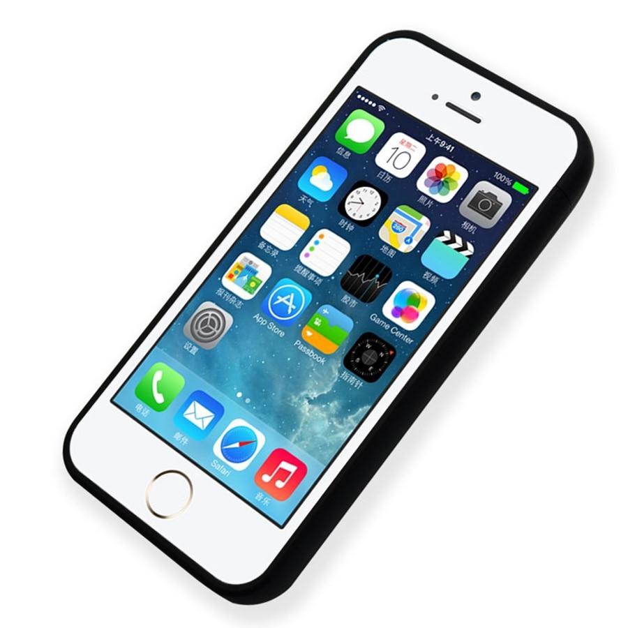Ultra-thin Battery <font><b>Charger</b></font> Portable Power Bank Cover <font><b>Case</b></font> <font><b>For</b></font> <font><b>iPhone</b></font> 5s 5 se plastic charging External Backup coque Capa 4000mAh