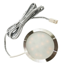 6PCS LED Under Cabinet Light Kitchen Remote Control Dimmable Puck Lights Closet Cupboard lamp wardrobe bar Lamps Decoration