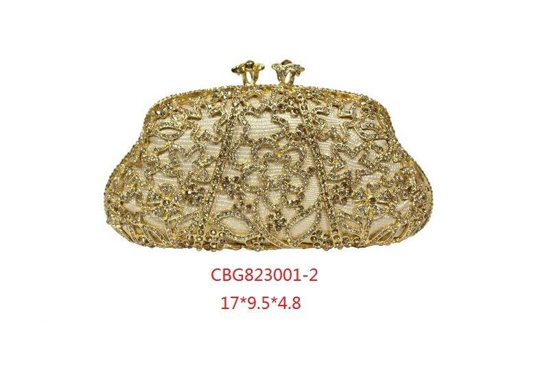ФОТО Women Handbag Rhinestones Minaudiere Ladies Gold Crystal Clutch Mini Bag Metal Clutches Evening Bags Wedding Diamond Purses